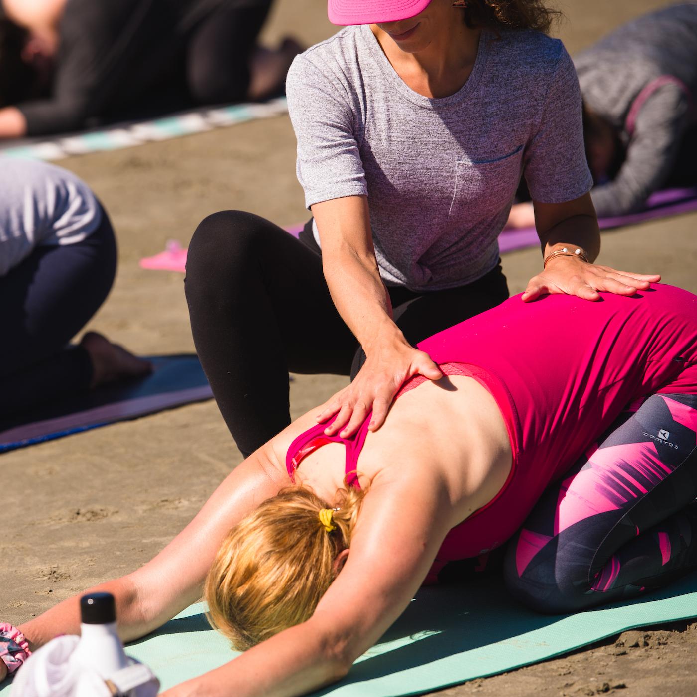 L'art d'ajuster en yoga