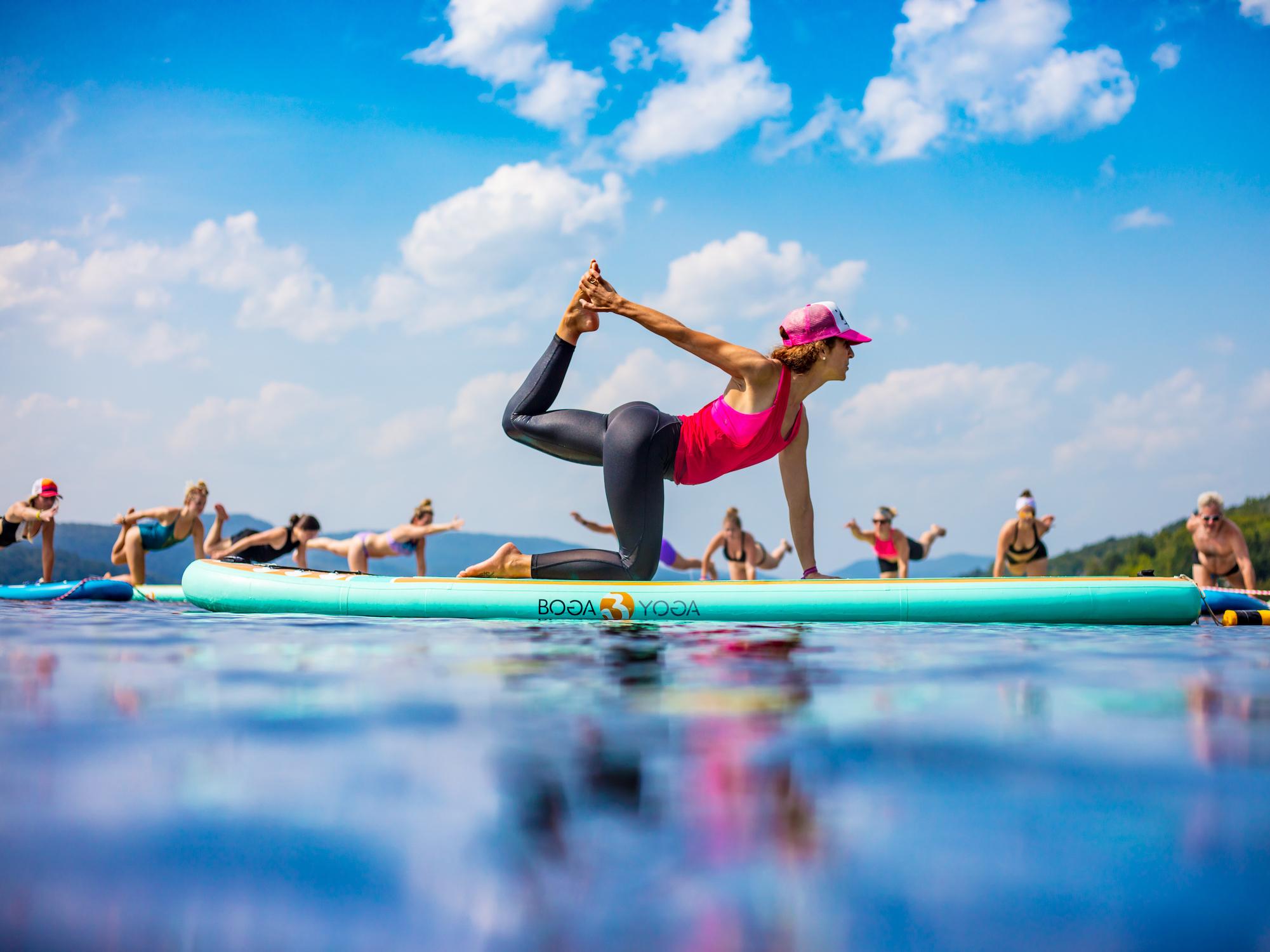 atelier - formation avancée en sup yoga