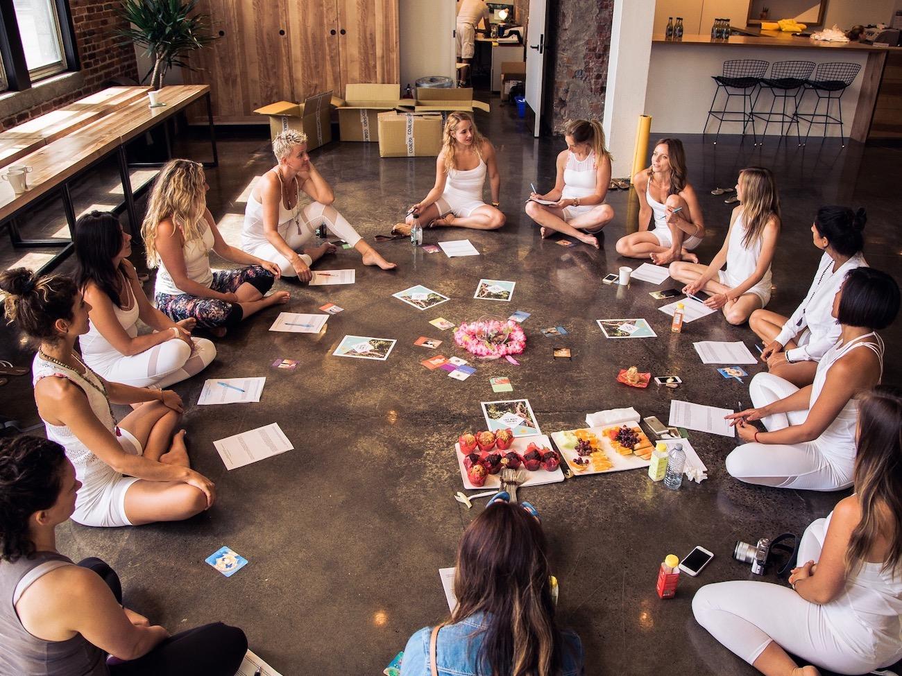 atelier - la business du yoga et du domaine du bien-être