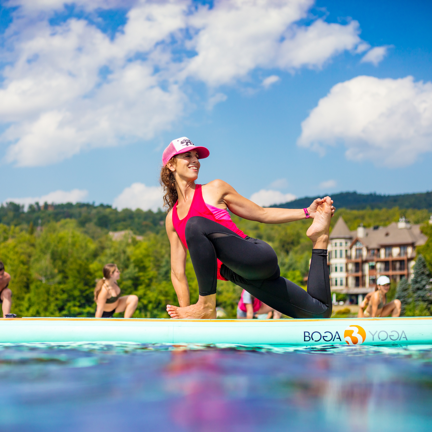 immersion en sup yoga