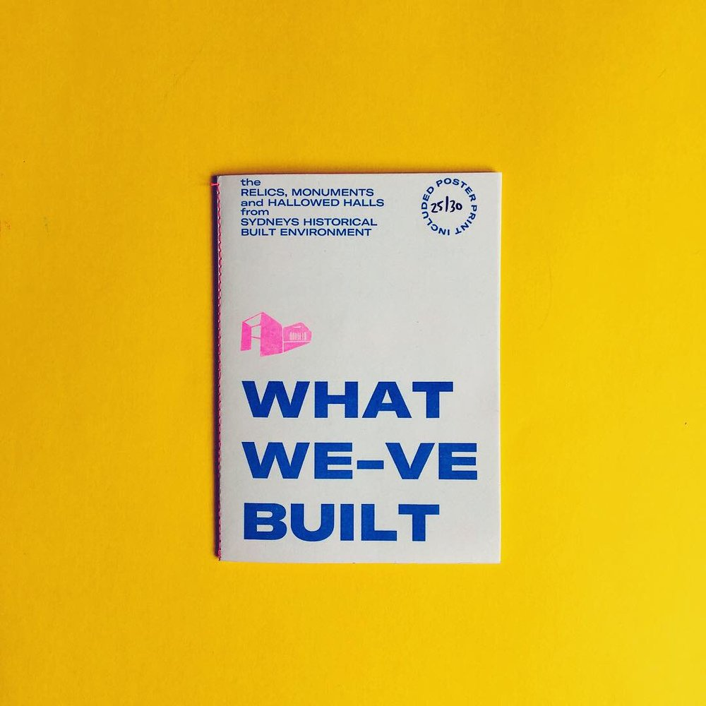 What We-ve Built - Limited Run of 30