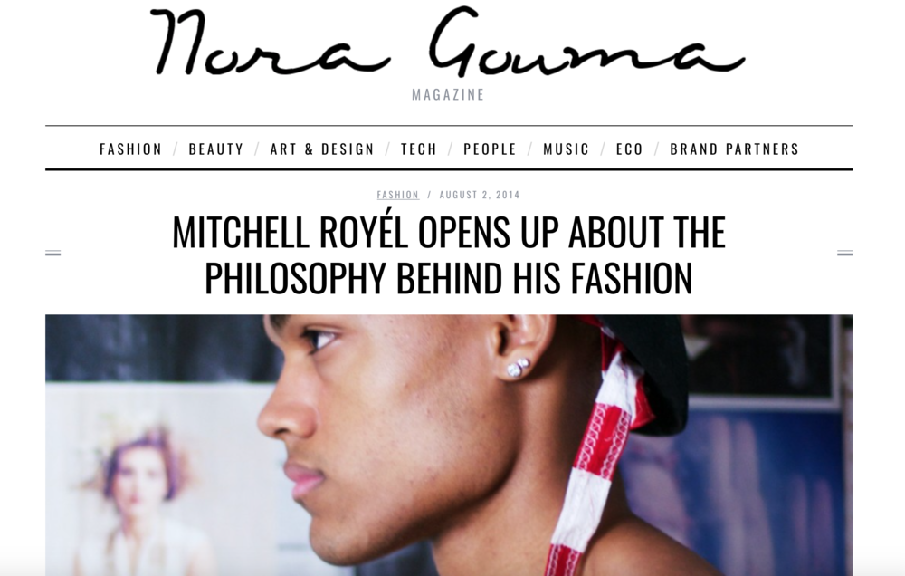 MITCHELL ROYÉL OPENS UP ABOUT THE PHILOSOPHY BEHIND HIS FASHION - Meet Mitchell Royèl. One of this years most buzzed about social media personalities. The twenty-one year old recording artist and model who currently leads a massive of following online with his seamless blend of self – help and sex appeal.
