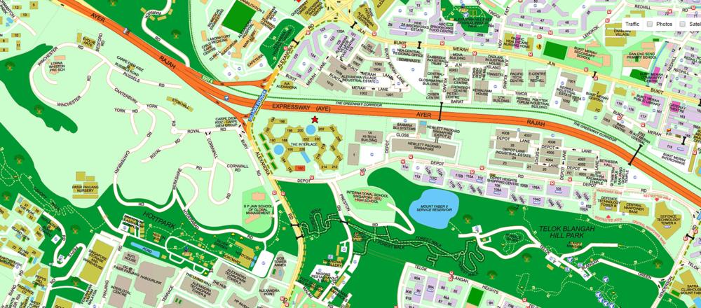 Interlace Map
