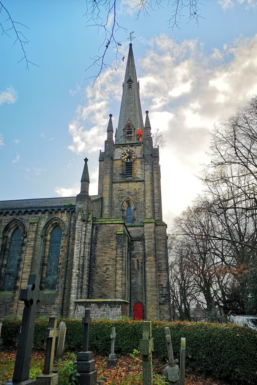 Church Repair Work