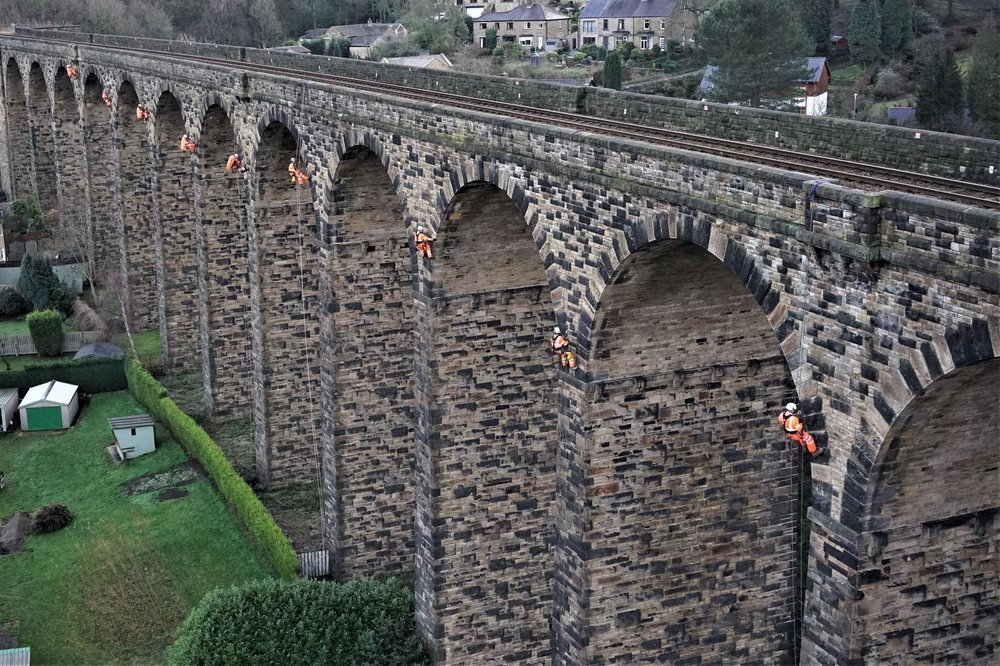 Listed Structure Rope Access Works