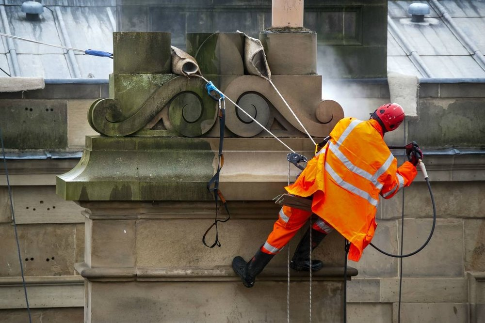 Heritage Cleaning Works - Chatsworth House