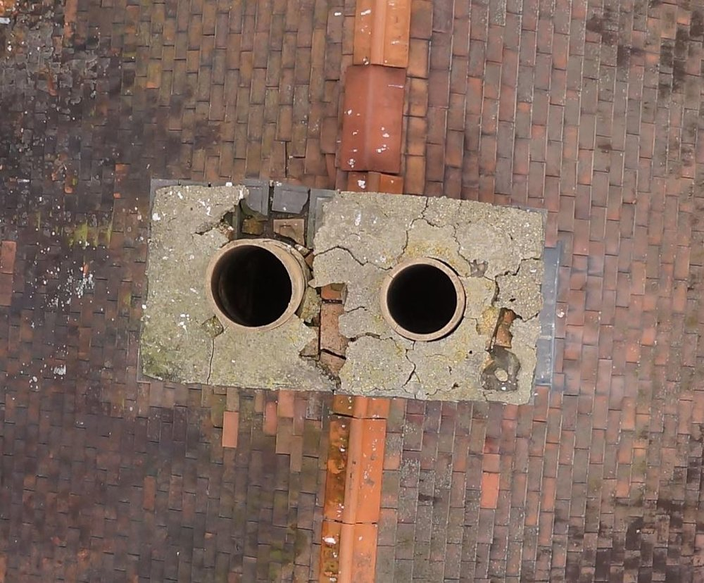 Drone Roof/Chimney Inspection