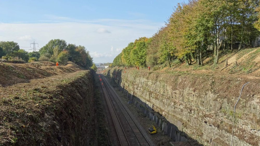 Severn Tunnel Vegetation Clearance - After