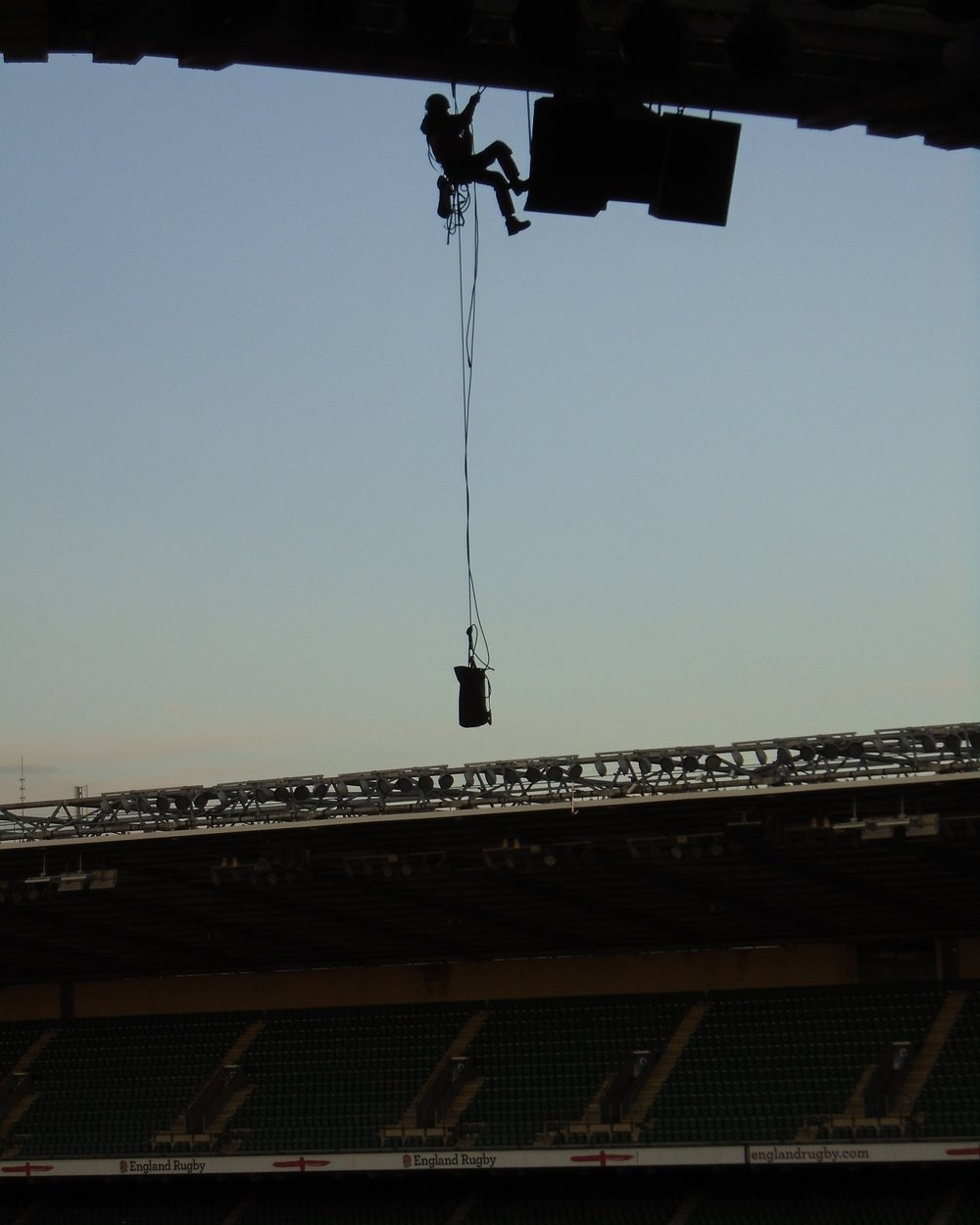 Rope Access Stadium Speaker Works