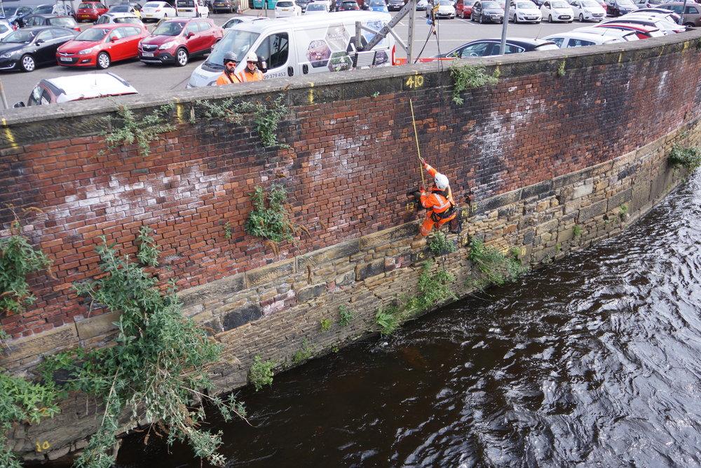 Flood Defence Works - Sheffield River Don