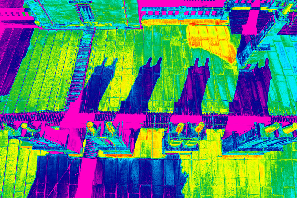 Drone Thermal Imaging Survey of a Heritage Roof
