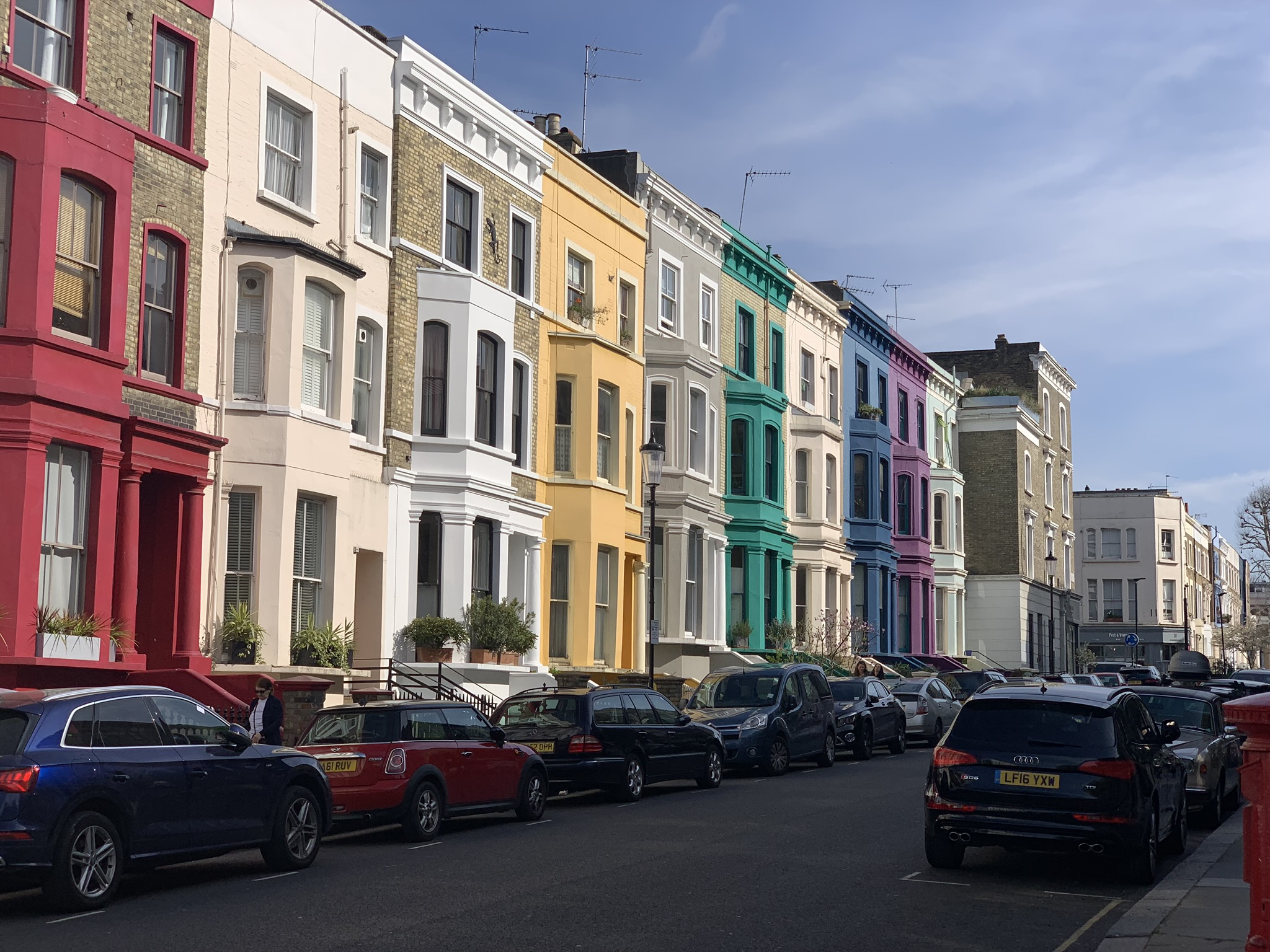Colourful streets of Notting Hill