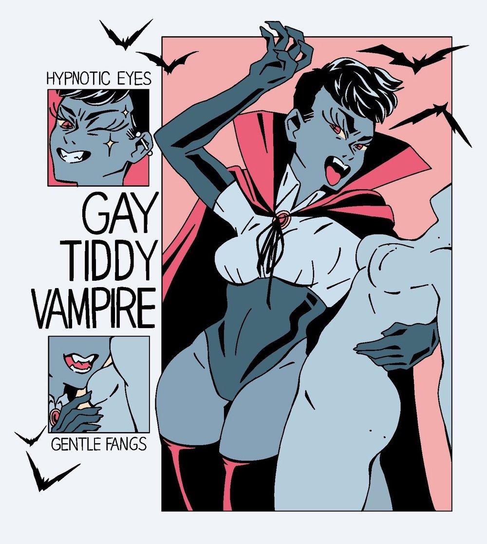 Gay Tiddy Vampire