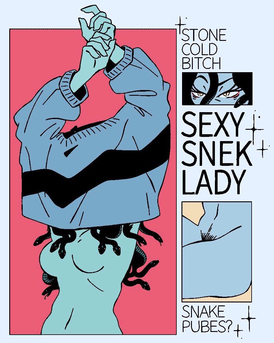 Sexy Snek Lady
