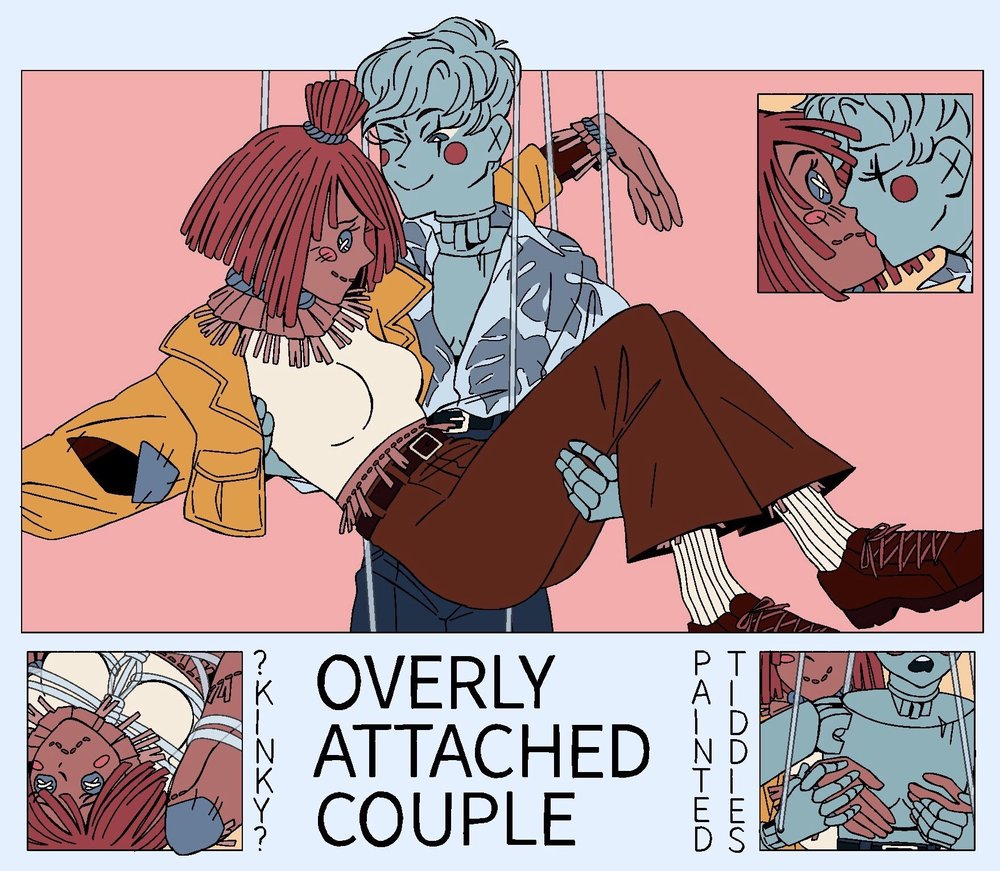 Overly Attached Couple