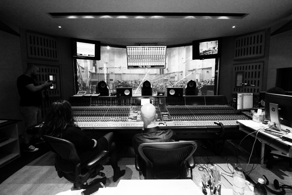 I found the concept of Abbey Road studios very daunting initially, but after having been a few times, it's one of the most relaxing studio environments I've ever been in.