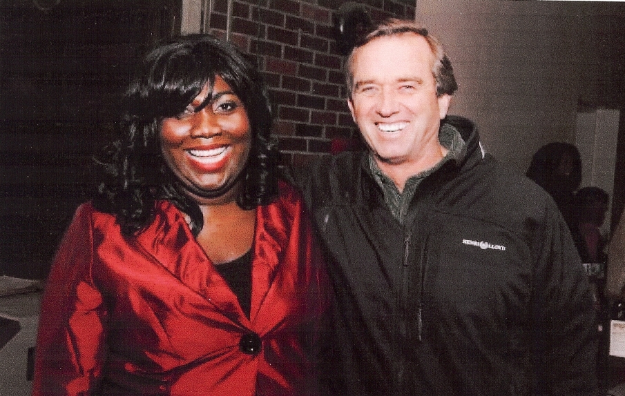 Nicole Mitchell and Robert F. Kennedy Jr.
