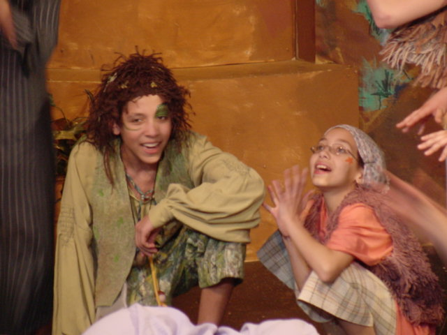 Heath & Alanna in Peter Pan