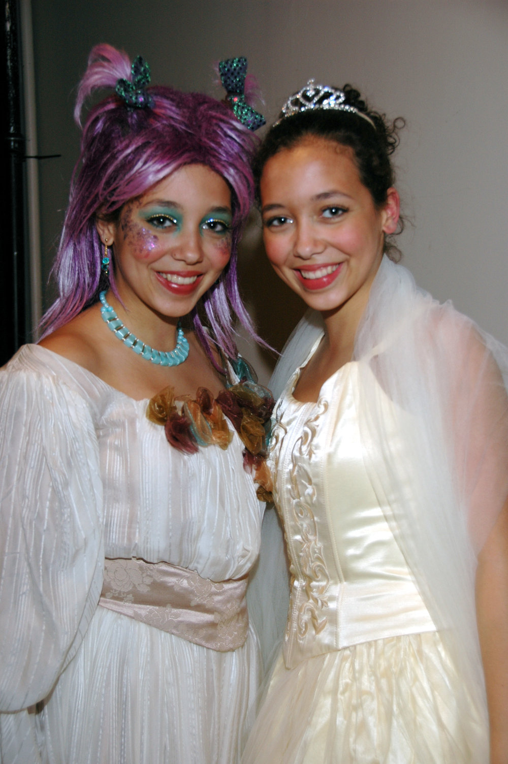 2007 November - Cinderella and Fairy Godmother.JPG
