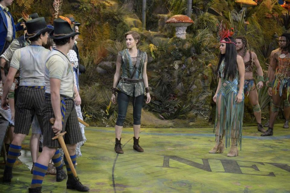 Peter Pan Live - Alanna and Allison.JPG