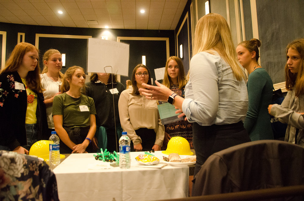 Students Meet with Industry