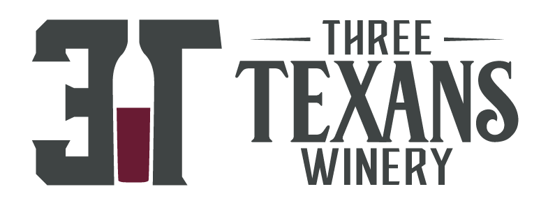 3 Texans Winery Logo