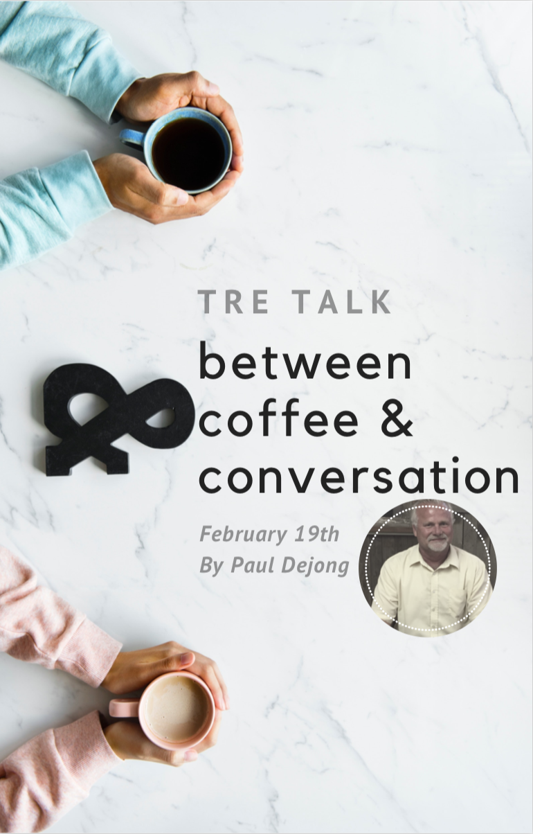 tre talk - God works in the most miraculous ways, Paul Dejong's story will leave you with your mind awaken and your heart inspired. Join us February 19th for the opportunity to hear Paul's inspiring story.