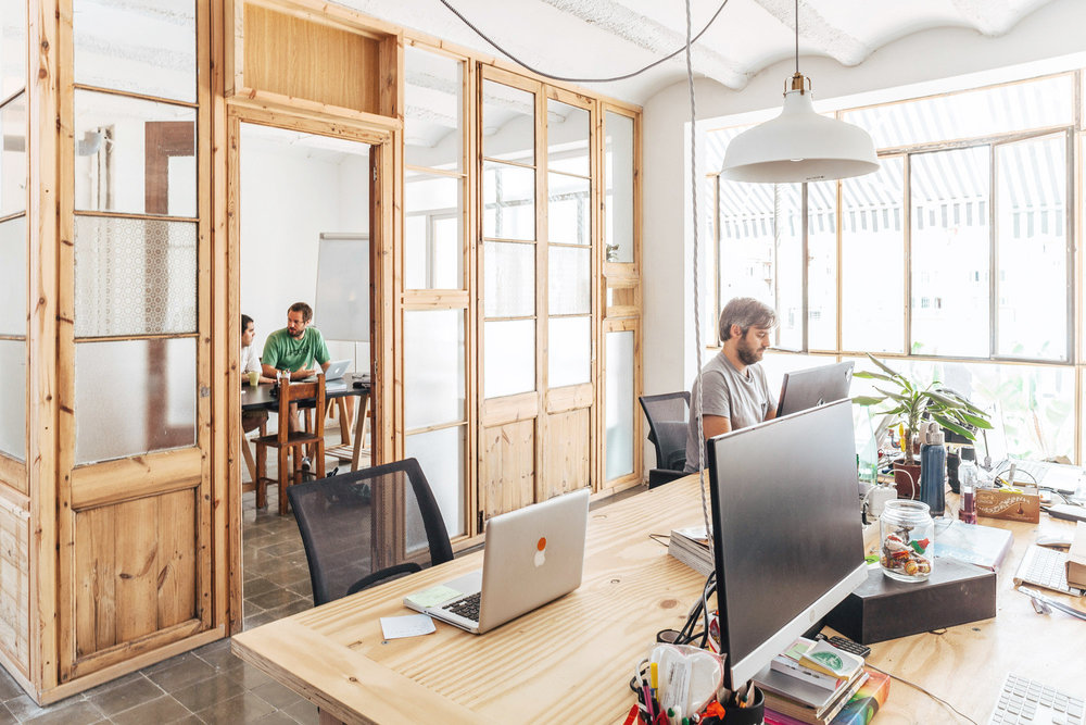 Flylancer works with the best coworking spaces in the world, like Betahaus.