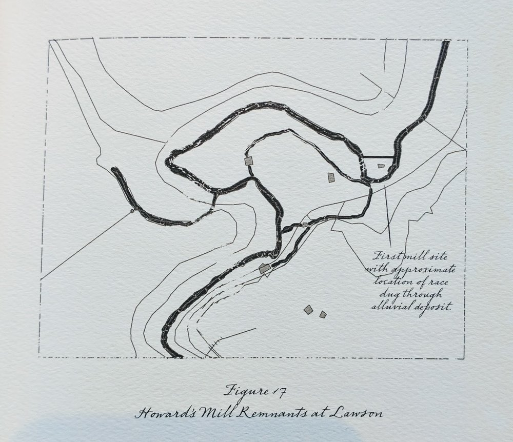 Artifacts Identified - …in the surveys represented in these maps were found under less than ideal circumstances, and it is expected that closer examination of the terrain in the vicinity of the old mill site will produce a more detailed picture of the mill's evolution and operation. The