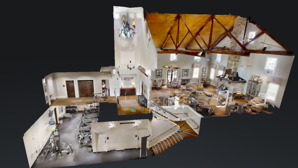 Mill House in 3D? - Yes, we've got that from our Lawson neighbor at HouseLens. Plus we have multiple 360 tours and a guided tour of the Mill House and pool area. We even have a flyover! Can you tell how much we love Lawson?