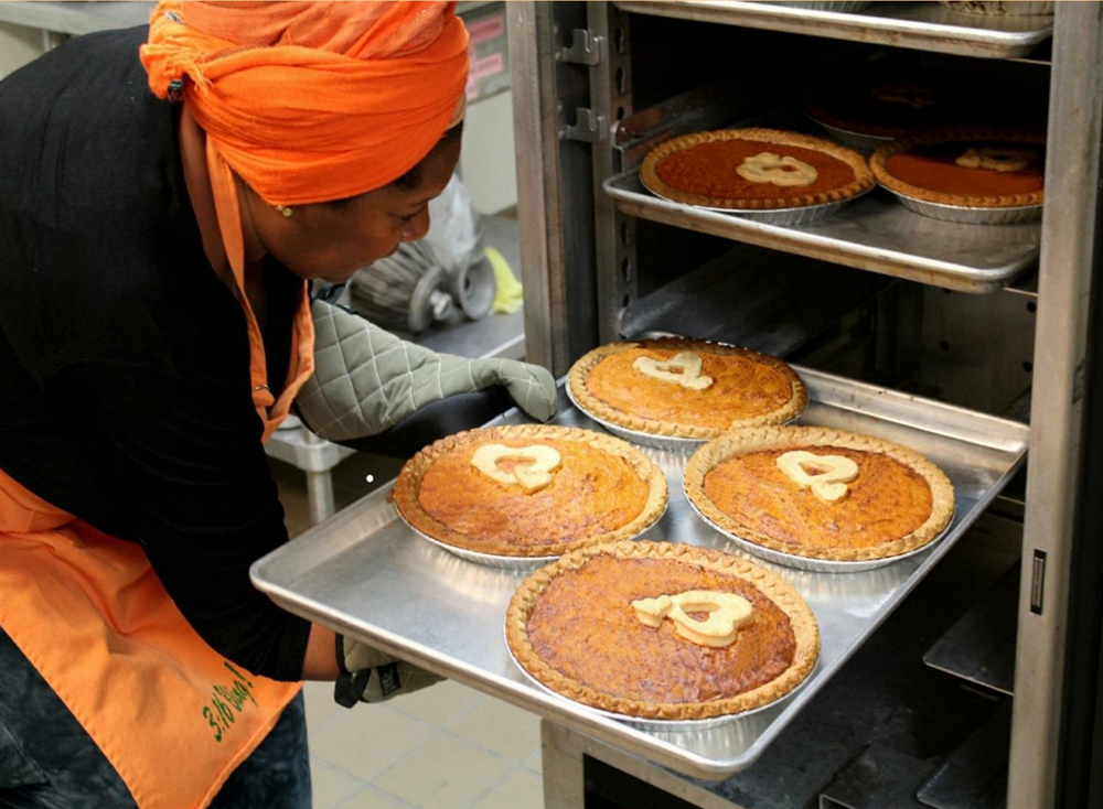 "THE RECIPE - This is Rose McGee's own award-winning recipe for Sweet Potato Pie. Rose shares this ""sacred dessert"" of Black culture with the belief that giving, receiving and enjoying this comfort pie helps to build just and caring community for all."