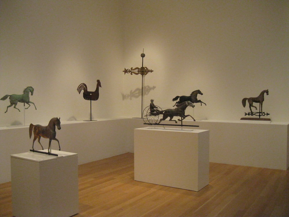 More weather vanes than you can 'shake a stick at!'