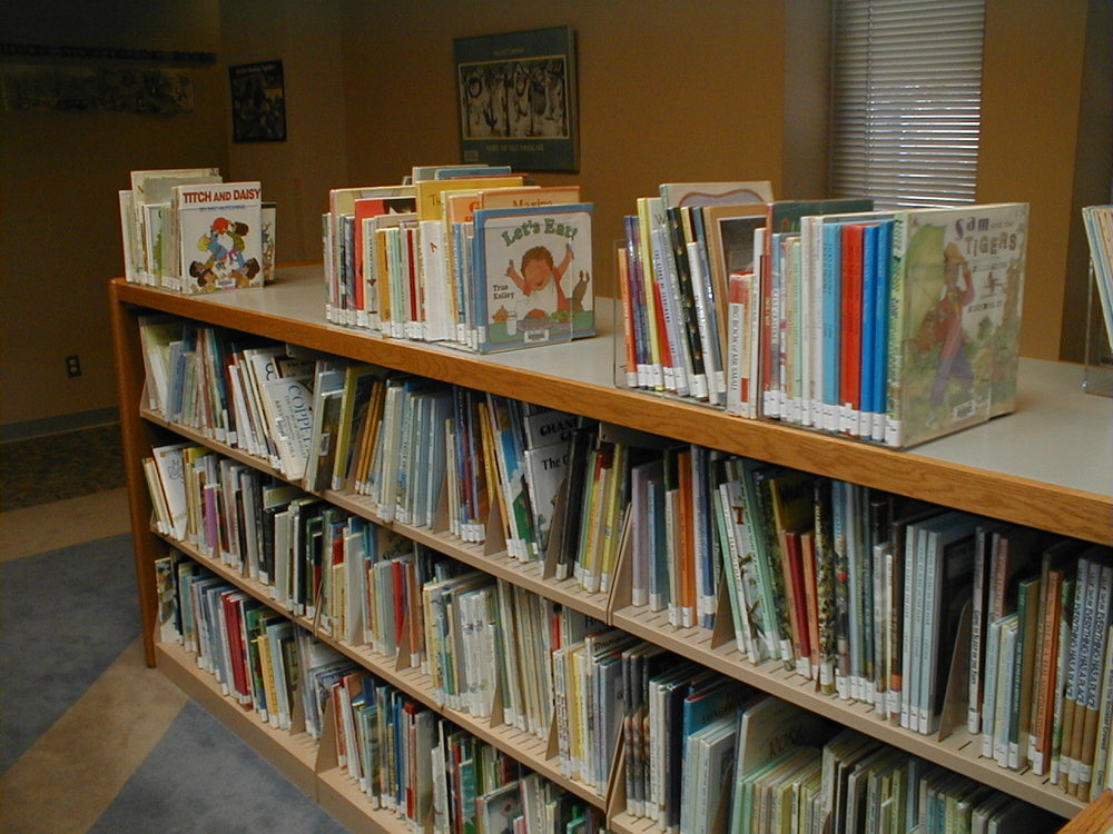 Many libraries have used  Book Supports  to expand display space without purchasing expensive shelving.