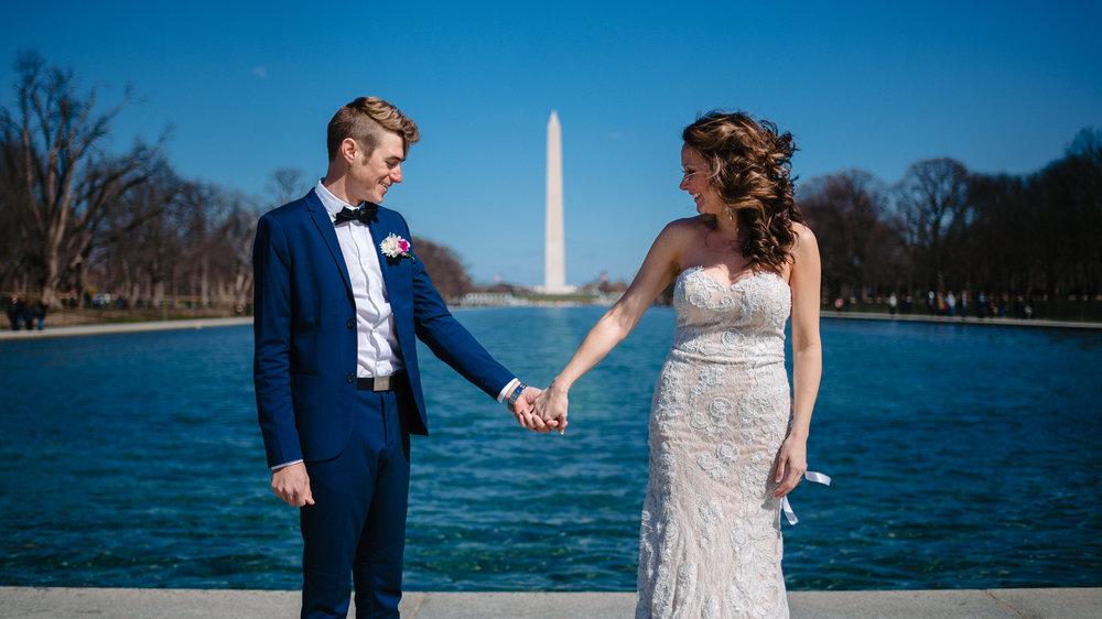 Washington DC Elopement at the Monuments