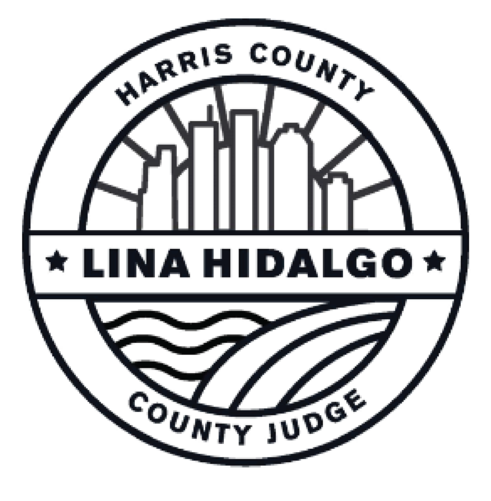 Lina Hidalgo Harris County Judge Logo