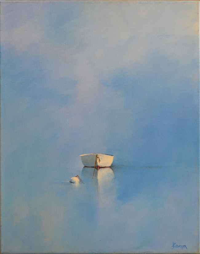 Morning Reflections, 20x16