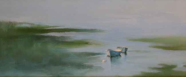 Rowing Buddies, 10x23