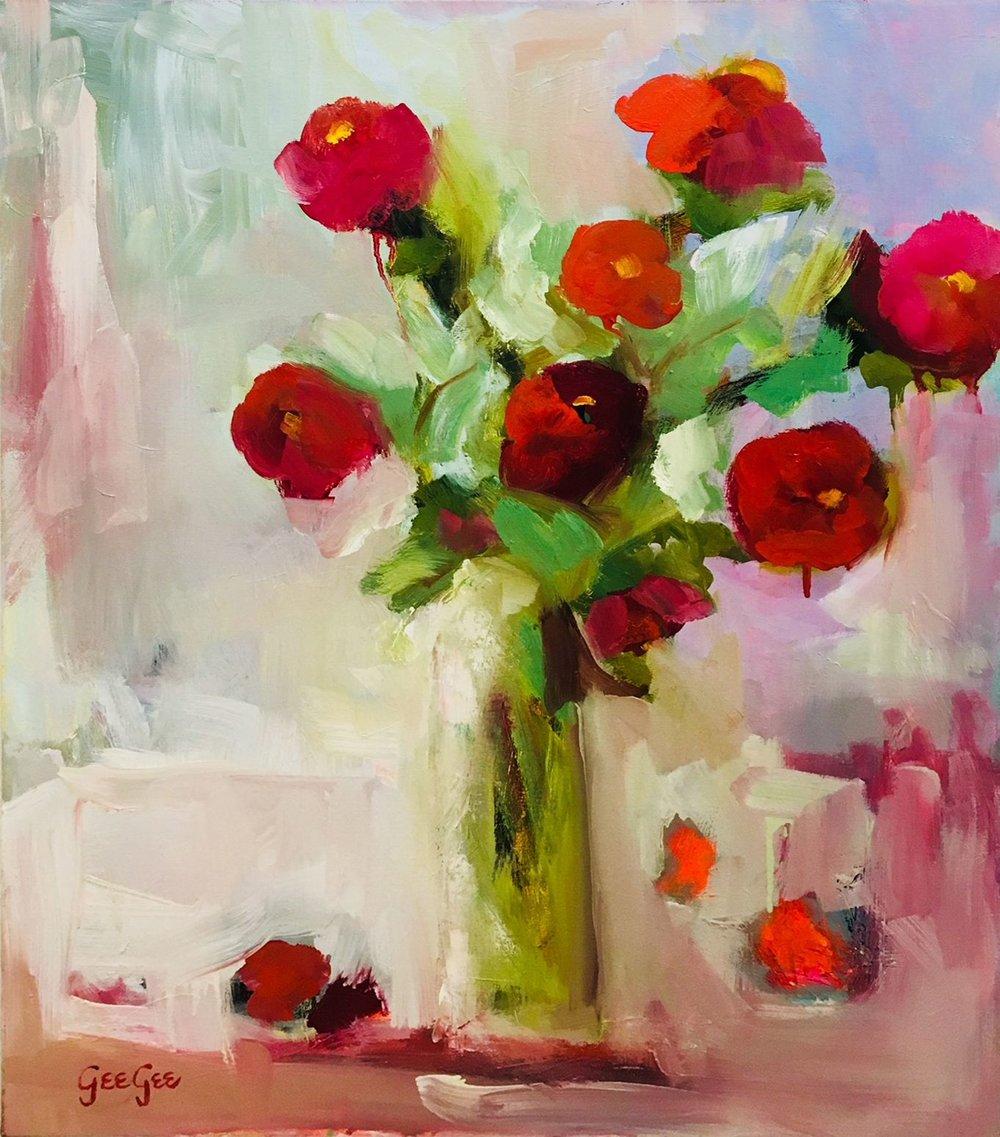 Floral Beauty, 40x30