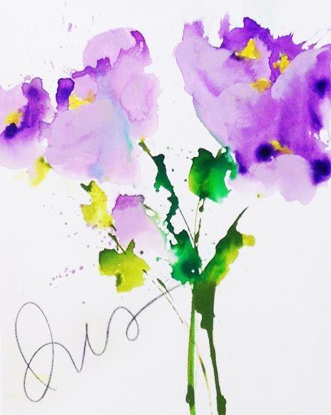 Iris, 24x18