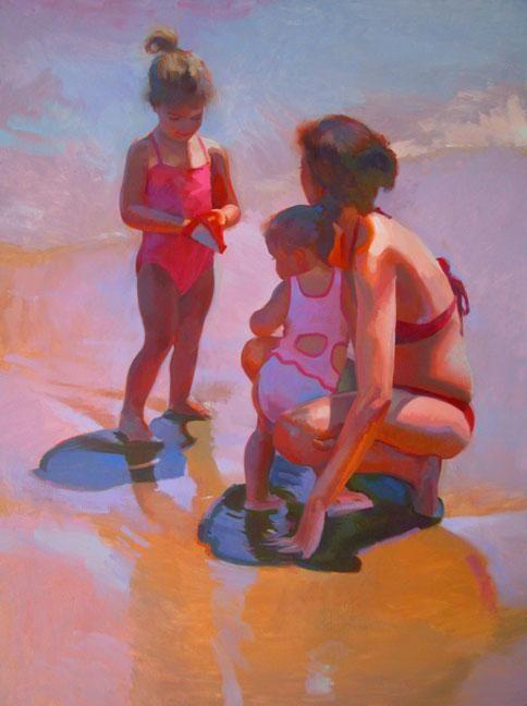A Child's Summer, 48x36