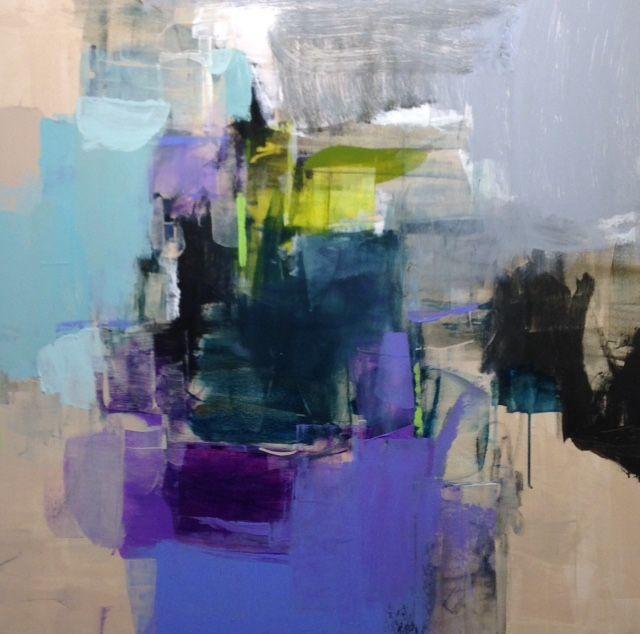 Violet Shadows, 36x36