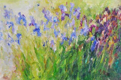 Iris Harem, 24x36
