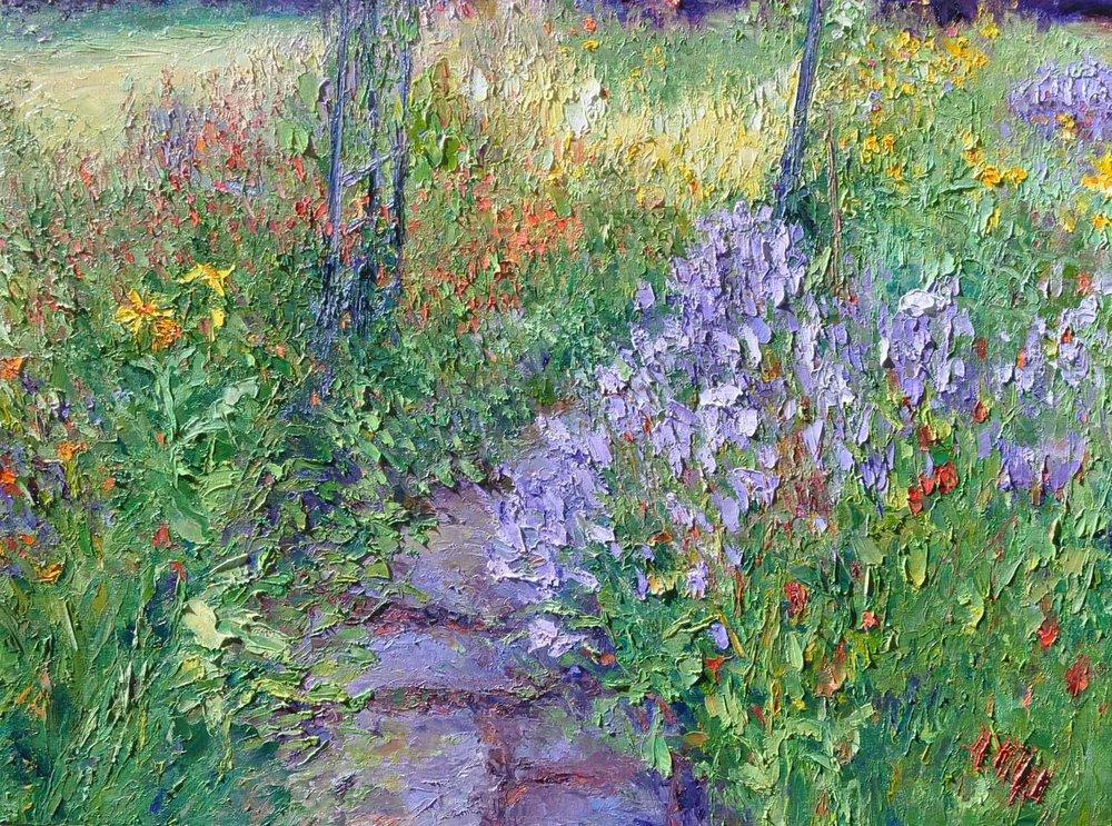 Gardening Intrigue, 48x50