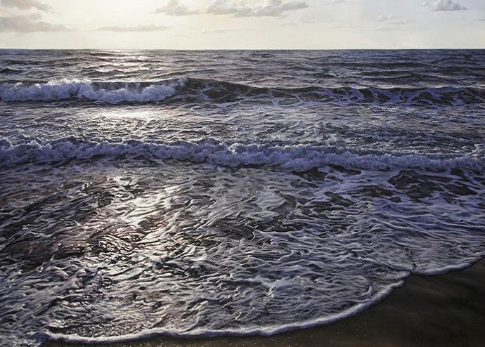 Coastal Treasures, 45x61