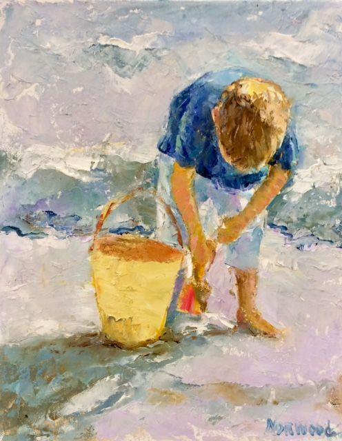 Sand Bucket, 14x11