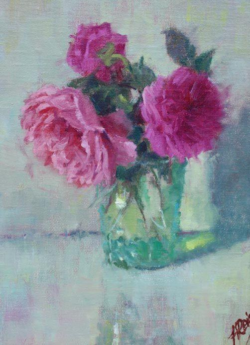 Belinda's Dream Roses, 12x9