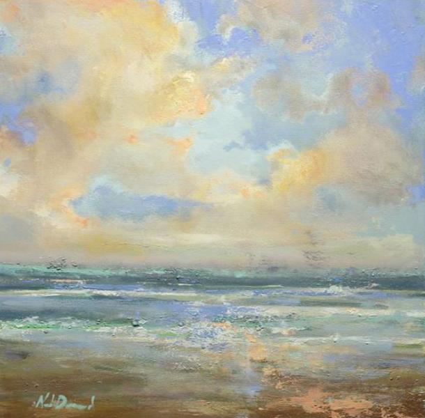 Ocean Breeze, 36x36