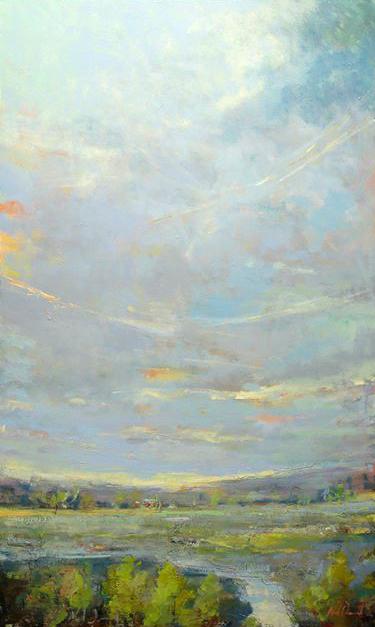 Triumphant Clouds, 60x36