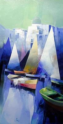 Four Sails, 63x31