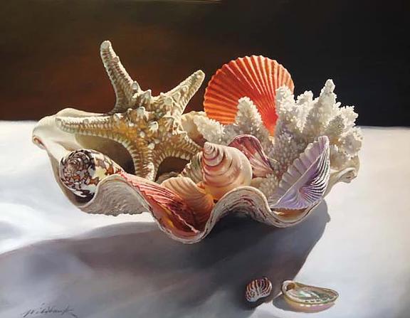 Bouquet of Shells, 24x36